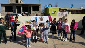 Kerstactie in Nineveh 2016